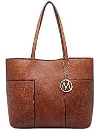 Mkf Collection Sadie Tote Bag By Mia K. Farrow (Brown)