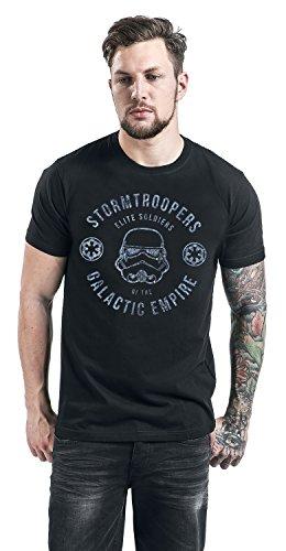 Star Wars Rogue One - Stormtroopers Elite Soldiers T-Shirt Schwarz Schwarz