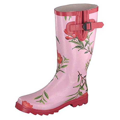 GOSCH SHOES , bottes en caoutchouc femme rose bonbon