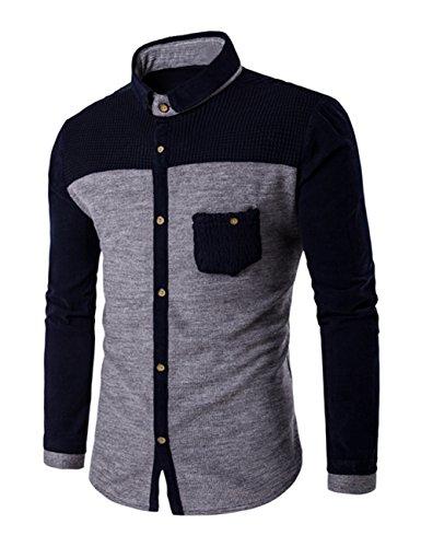 thinkmax-men-weave-thermal-long-sleeve-shirt-light-gray-4xl