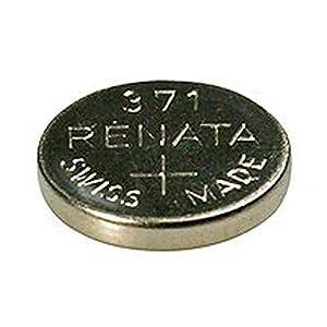 Renata Uhrenbatterie Swiss Made Renata 371oder SR 920SW 1,5V