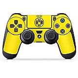 DeinDesign Sony Playstation 4 Controller Folie Skin Sticker aus Vinyl-Folie Aufkleber BVB Borussia Dortmund Sterne