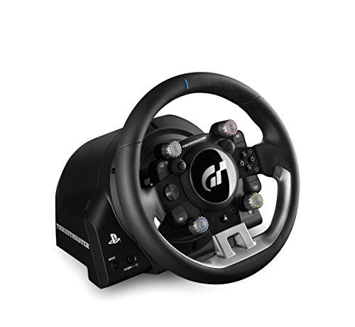 Thrustmaster T-GT – Volante de carreras para PS4 / PC con licencia oficial Gran Turismo Sport – 3 Pedales – Force Feedback 4178bUcO4JL