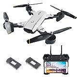 Goolsky SG700 Drone WiFi FPV 2.0MP Cámara Plegable 6-Axis Gyro...