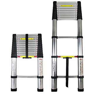 Abbey Telescopic Ladder 3.2m With Free Bag