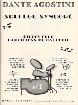 Agostini - Solfège Syncopé N°1