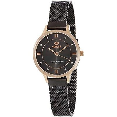 Marea B54138/5 Reloj para Mujer con Correa Gris y Pantalla en Negro