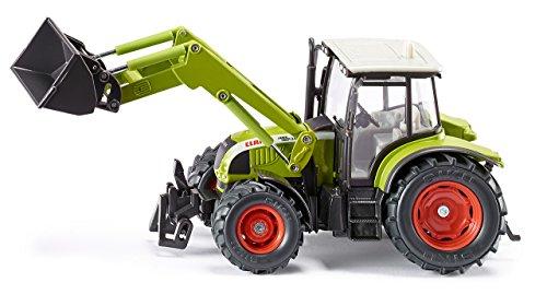 Siku - 3656 - Véhicule sans piles - Tracteur Claas Ares avec chargeur frontal - 1,32ème - métal