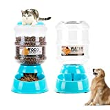 JFRI Ciotole Per Gatti Cani Distributore di aspirazione dell'animale domestico antigelo affondare affari viaggio gabbia cane alimentazione macchina cibo per cani ciotola di alimentazione acqua feede