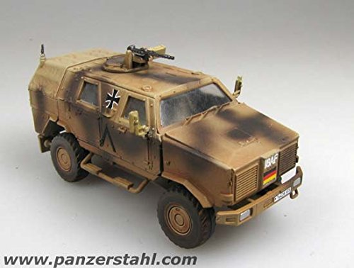 Panzerstahl 88024 88024-ATF Dingo 1-Bundeswehr ISAF 1:72, Mehrfarbig