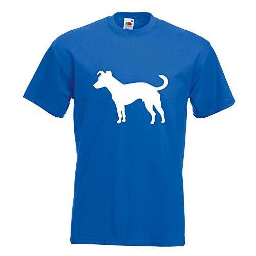 KIWISTAR - Jack Russell Hund Terrier T-Shirt in 15 verschiedenen Farben - Herren Funshirt bedruckt Design Sprüche Spruch Motive Oberteil Baumwolle Print Größe S M L XL XXL Royal