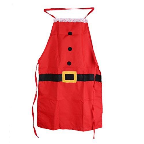 Arpoador grembiule adulto costume di Babbo Natale in stile Family cene da chef da cucina di Natale decorazione regalo