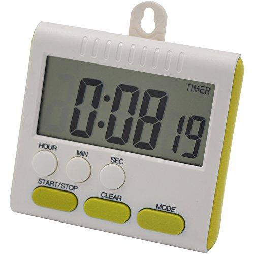buwant 24ore orologio e timer digitale da cucina magnetico con grande schermo allarme Multi Funzione Green