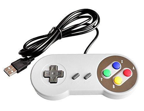 sukragraha USB Joypad Gamepad Controller für Super Nintendo, SNES Retro Famicom Spiel Windows PC Mac Linux Android Raspberry Pi