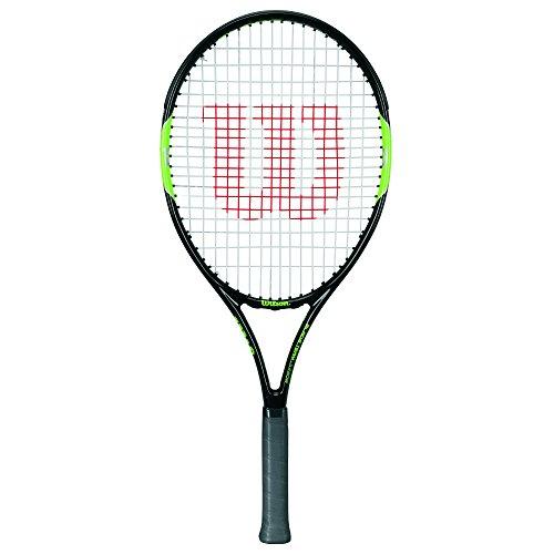 Wilson, Kinder-Tennisschläger, Schwarz-Grün, 26