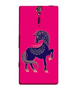 PrintVisa Designer Back Case Cover for Sony Xperia SL :: Sony Xperia S :: Sony Xperia SL LT26I LT26ii (Zodiac Year Sign Art New Pattern Beautiful Vector)