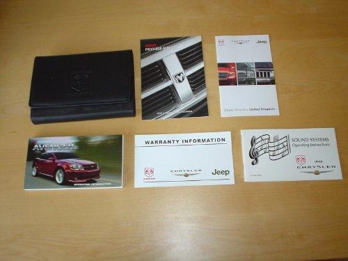 dodge-avenger-owners-manual-handbook-c-w-wallet-2007-2011-sxt-se-etc-20-24-27-litre-petrol-20-l-dies
