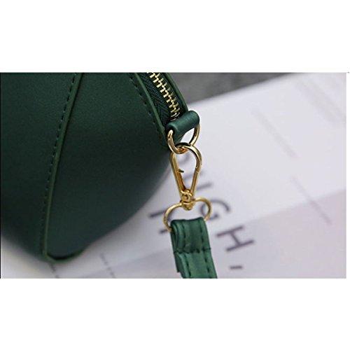 Frauen Beiläufige Minischultertasche Messenger Bag Green