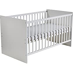 roba-kids Maren - Cuna de 140 x 70 cm transformable en cama infantil