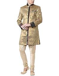 Peter England Men's Cotton Sherwani