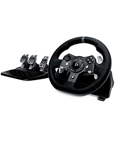 Logitech G920 Volant + pédales pour Xbox One/PC