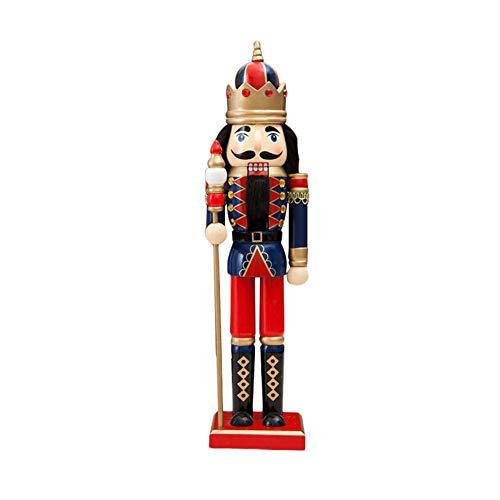 Hölzerner Soldat Weihnachten verziert Weihnachtsdekorationsnussknacker hölzerne Kriegersmarionetten-Zinnspielwaren