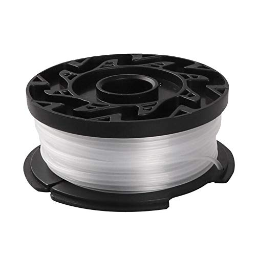 Formel-line (Steellwingsf 3Pcs Trimmer Spool Line Weed Eater Ersatzteile für Black Decker GH400 Schwarz 1 Stück)