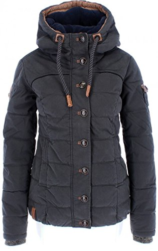 Damen Jacke Naketano Breakfast Club III Jacke, Black, Gr. M (Down Jacke Beste)