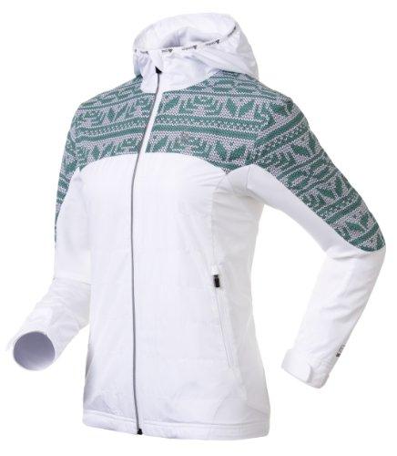 Odlo - Giacca da uomo Indumento giacca Stmoritz Bianco - white - mystic green