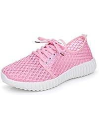901106f3caf4e Chenang Herbst Woven Schuhe Frauen Wohnungen Flacher Mund Faul Loafers  Sneaker Mesh Atmungsaktiv Runde Sohle Turnschuhe…