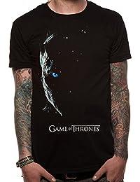 T-shirt noir officiel de Game of Thrones White Walker Black | Tailles S-XXL