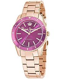 Pepe Jeans R2353102509 - Reloj de pulsera para mujer, morado / plata