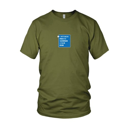 FF Attack Menu - Herren T-Shirt Army