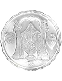 Ananth Jewels BIS HALLMARKED 990 Purity Silver Coin Balaji 10 grams