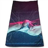 ewtretr Toallas De Mano,Wet Sexy Girl Cool Towel Beach Towel Instant Gym Quick Dry