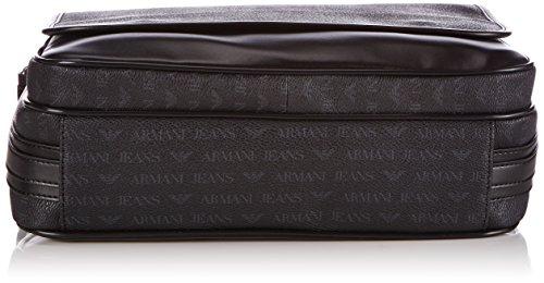 Armani Jeans 06212J4 Herren Umhängetaschen 31x25x8 cm (B x H x T) Schwarz (NERO 12)