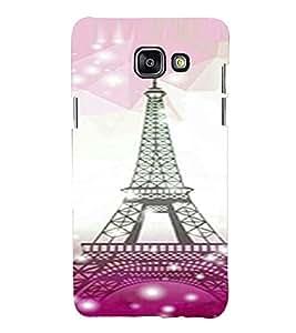 Printvisa Lite Eifil Tower Backcover For Samsung A5 2016 (Pink)