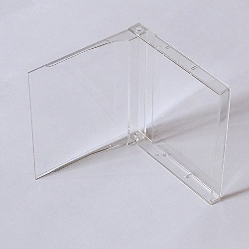 MD MiniDisc Hüllen/Leerhüllen, für MiniDisc-Kassetten, transparent-hochklar (50 Stück)