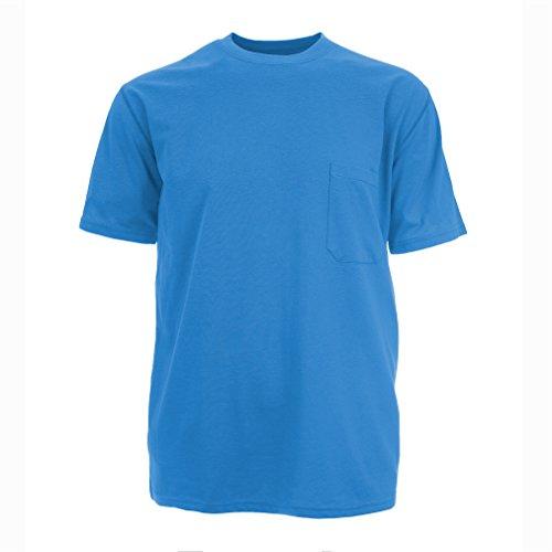 Insektenschutz Herren UPF dri-balance Short Sleeve Pocket Tee marineblau