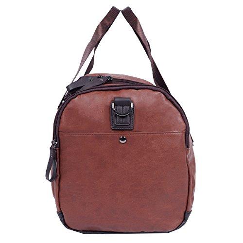 Yy.f Giovane Casuale Borsa A Tracolla Sacchetto Impermeabile Uomini Messenger Bag Borsa Business Semplice Ad Alta Capacità Borsa Da Viaggio 3 Colori Brown