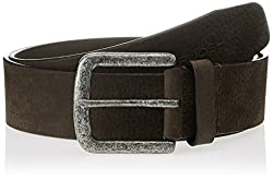 Ruosh Brown Leather Mens Belt (550102702)