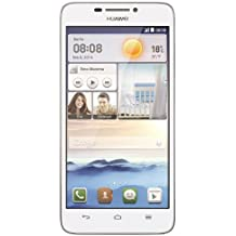 "Huawei Ascend G630 - Smartphone libre Android (pantalla 5"", cámara 8 MP, 4 GB, Quad-Core 1.2 GHz, 1 GB RAM), blanco"