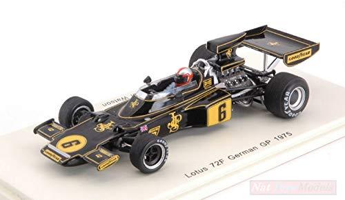 Spark Model S7129 Lotus 72F J.Watson 1975 DNF German GP 1:43 MODELLINO DIE CAST kompatibel mit -