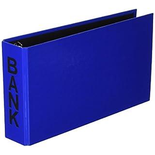 Aulfes 40801-06 Bankordner 250x140x50 blau buchbinderisch