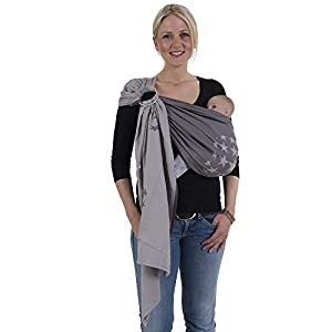 Hoppediz Ring Sling (Jacquard Los Angeles Grey)   9
