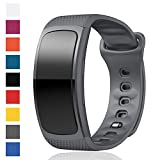 Cyeeson Samsung Gear Fit 2 SM-R360/ Fit 2 Pro SM-R365 Uhr Replacement Armband Weiche Silikon Farbe Adustable Band Gel Wristband Strap Watch Band für Samsung Gear Fit 2 SM-R360/ Fit 2 Pro SM-R365 Watch