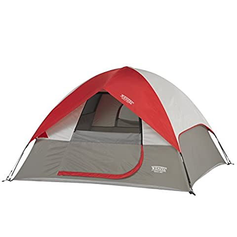 Wenzel Ridgeline 3 Person Dome Tent - Multicoloured, 7 x 7 ft