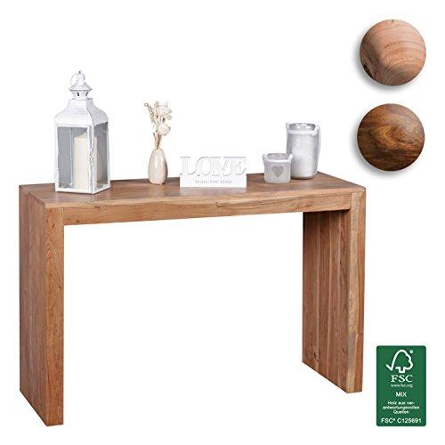 Wohnling tavolo console tavolo in legno massiccio console Design scrivania