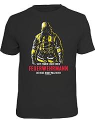 Original RAHMENLOS® T-Shirt: Gute Frauen heiraten einen Feuerwehrmann…