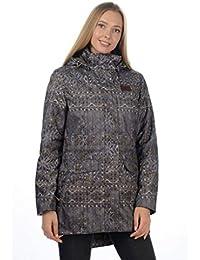 Stayer - Abrigo térmico para Mujer, Anorak Largo, Abrigo de Invierno, Impermeable, Transpirable, Gris Antracita,…